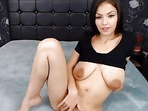 Hot Sexy Brunette Babe Love Being Fucked on Her M