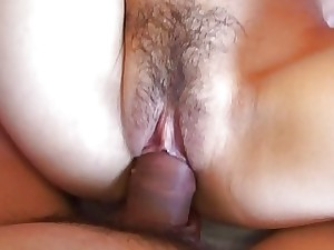 Shiori got her drenching humid pussy boinked in Point of view mis