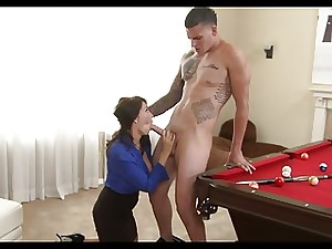 MOM WANTS SON'S FRIENDS YOING COCK!!!