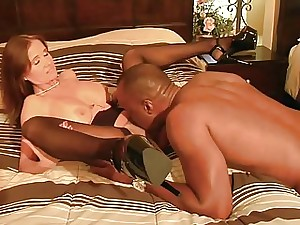 Cuckold wifey and her favorite black cock