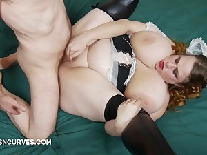 English Busty Wench getting Assfuck