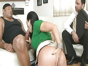 Massive black sausage for cheating wifey Cherokee
