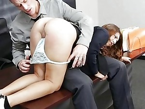 Schoolgirl grabbed and fucked by mature guy