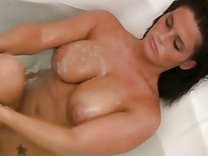My Hot Mom Filmed Nude In The Shower
