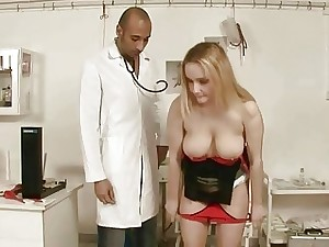 Black doctor fucking his gross patient