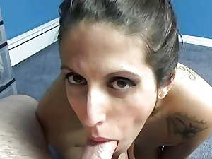 Lavender Rayne does some Hunt for load of shit sucking
