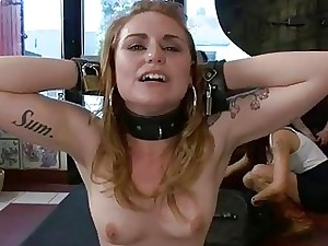 Hot pamper leap coupled with spoils drilled