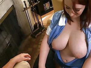 lush maid for super-hot romp