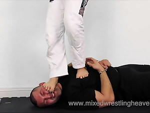 MWH0052 Punished for stealing from the gym - Face stomp