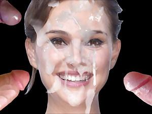 Natalie Portman Cum Face #5