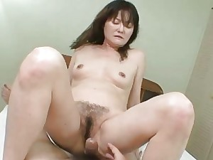 Michiko Sudo  Nippon Old woman Frigged Increased by Fucked