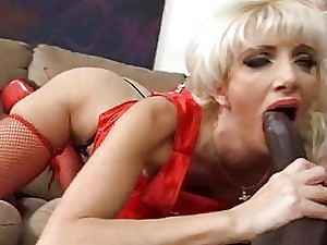 Take charge hot festival MILF fucks a diabolical old bean